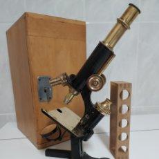 Antigüedades: ANTIGUO MICROSCOPIO R. WINKEL GÖTTINGEN. Lote 231882250