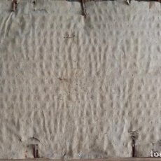 Antigüedades: REJA ARQUITECTÓNICA GÓTICA DE FORJA S. XVII. DIM.- 65.5X64.5 CMS. PROCEDE CASA SOLARIEGA DE SEVILLA.. Lote 186257155