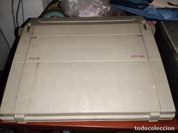 Antigüedades: MAQUINA DE ESCRIBIR ELECTRONICA - Foto 4 - 231726750