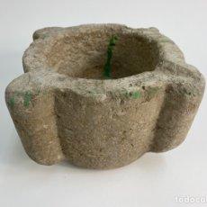Antiquités: MORTERO DE PIEDRA S.XVIII.. Lote 232168065