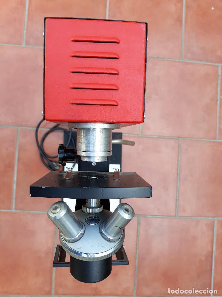 Antigüedades: Microscopio proyector - Foto 3 - 232261355