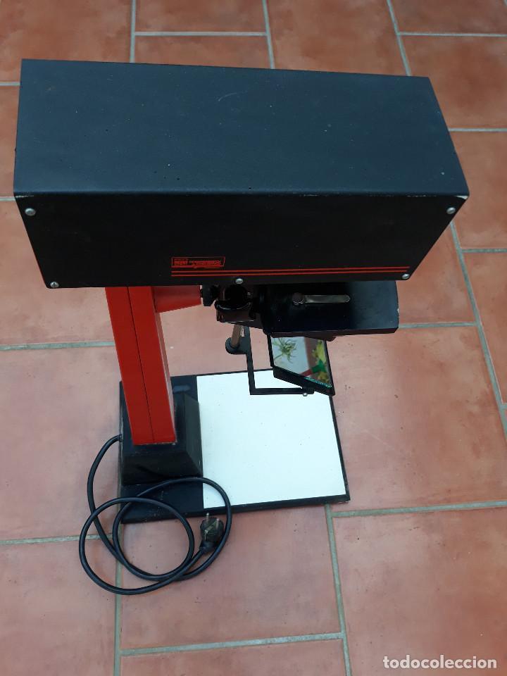 Antigüedades: Microscopio proyector - Foto 5 - 232261355