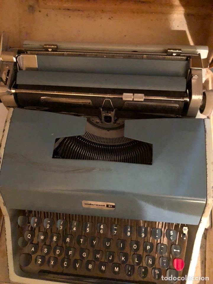 Antigüedades: Lote de 2 máquinas de escribir antiguas - Foto 5 - 232441655
