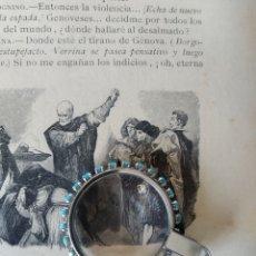 Antiguidades: LUPA DE COLGANTE. Lote 232510940
