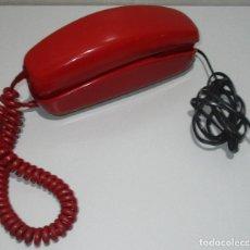 Téléphones: ANTIGUO TELÉFONO ROJO MODELO GÓNDOLA CITESA MÁLAGA CON TOMA ACTUAL. Lote 232523665