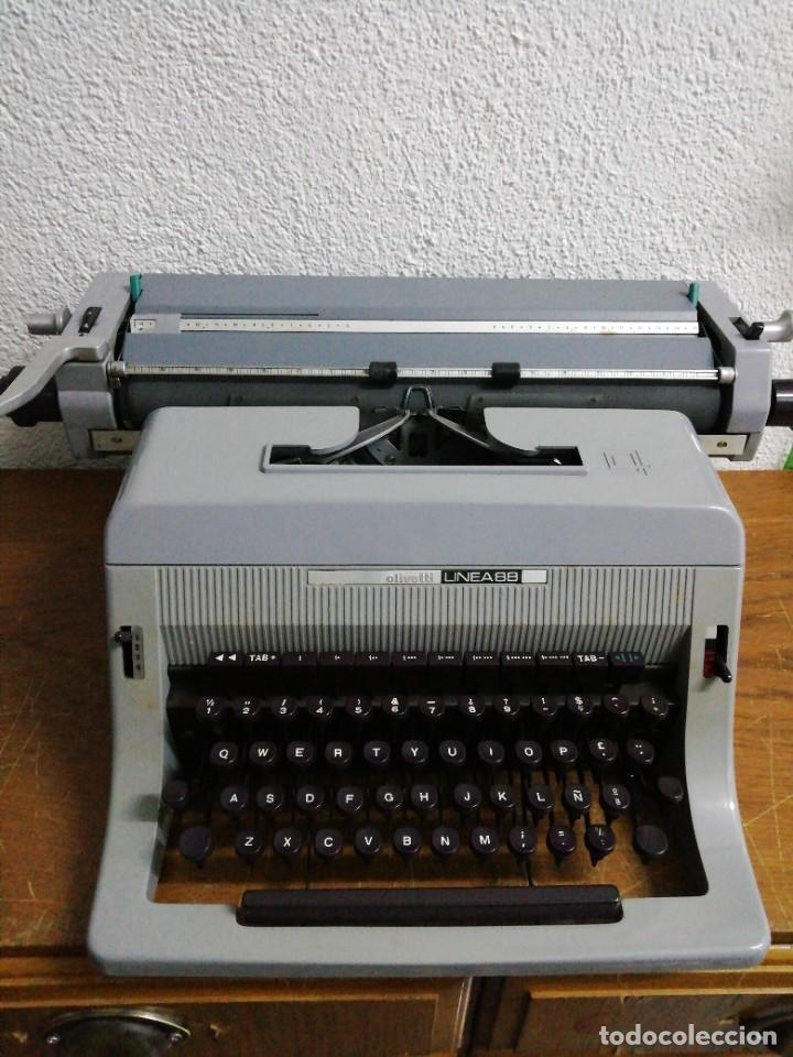 Antigüedades: Hispano Olivetti línea 88 - Foto 2 - 232942455