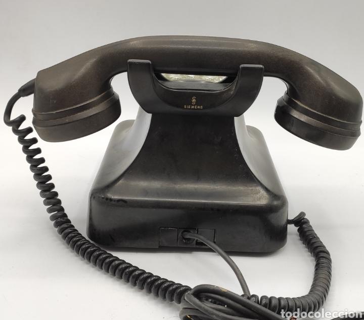 Teléfonos: Teléfono Siemens en baquelita. Vean fotos. - Foto 5 - 233093675
