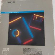 Antigüedades: MANUAL ANTIGUO IBM DOS 3.20. Lote 233173650