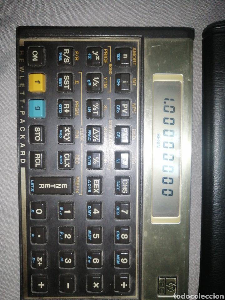 Antigüedades: Calculadora hp 12c - Foto 3 - 233177130