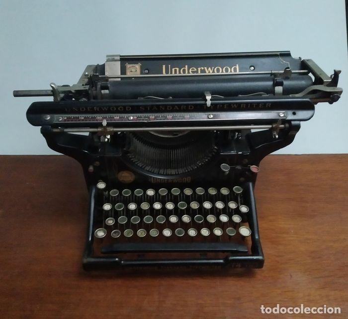 UNDERWOOD STANDAR TIPPERWRITTER Nº 14 IN (Antigüedades - Técnicas - Máquinas de Escribir Antiguas - Underwood)