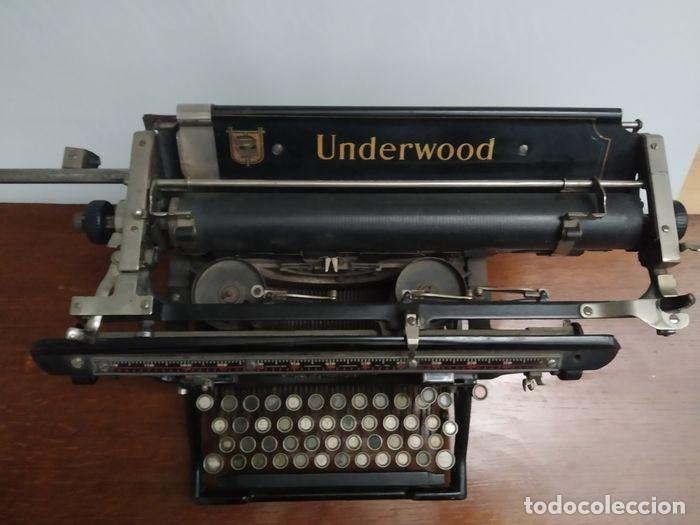 Antigüedades: Underwood Standar Tipperwritter nº 14 IN - Foto 2 - 233202045