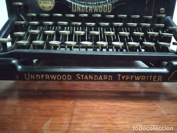 Antigüedades: Underwood Standar Tipperwritter nº 14 IN - Foto 3 - 233202045