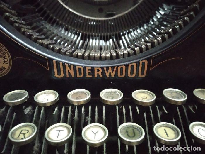 Antigüedades: Underwood Standar Tipperwritter nº 14 IN - Foto 4 - 233202045