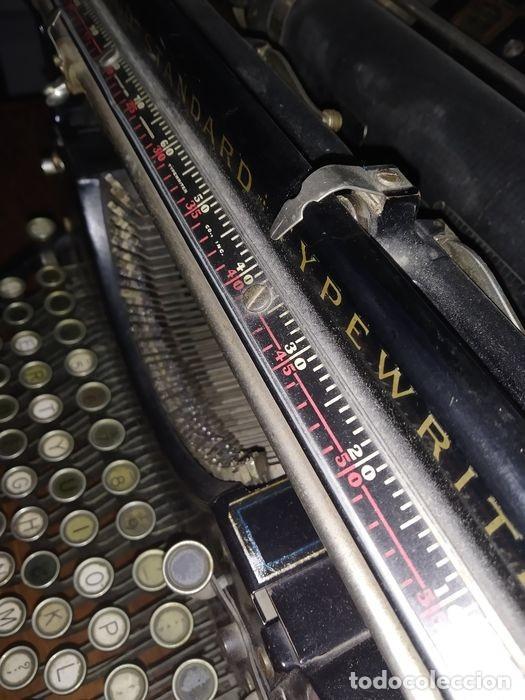 Antigüedades: Underwood Standar Tipperwritter nº 14 IN - Foto 6 - 233202045