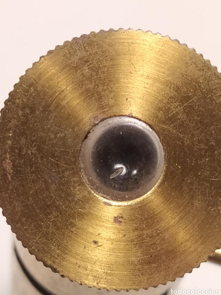 Antigüedades: Antiguo Microscopio de bolsillo - Foto 4 - 219491381