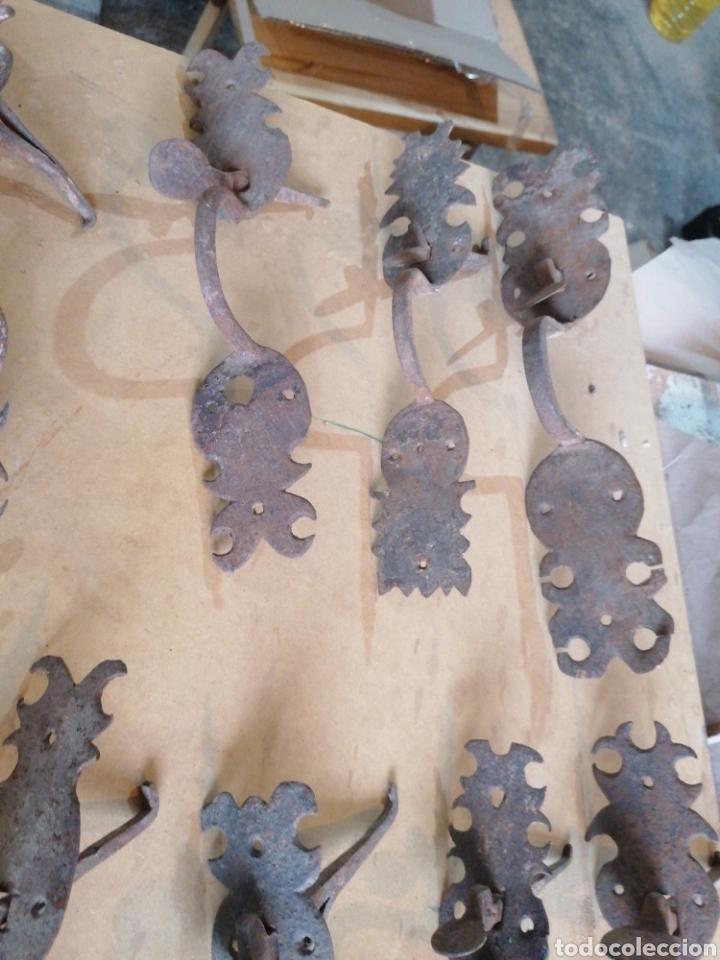 Antigüedades: Tiradores de puertas antiguas - Foto 2 - 233482040