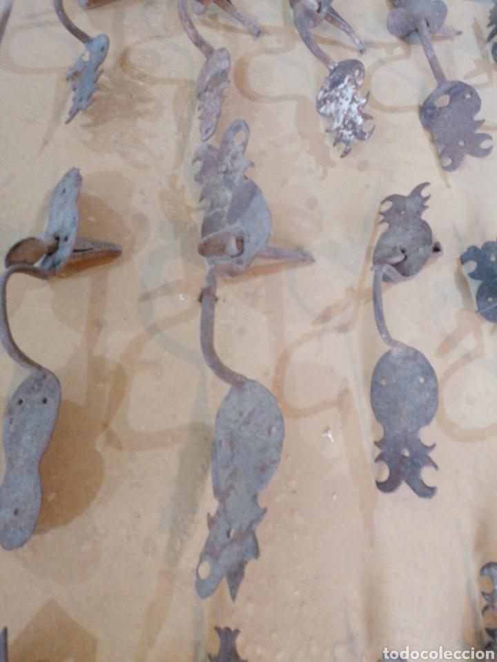 Antigüedades: Tiradores de puertas antiguas - Foto 5 - 233482040