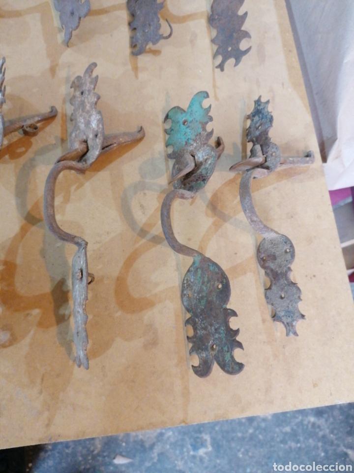 Antigüedades: Tiradores de puertas antiguas - Foto 6 - 233482040