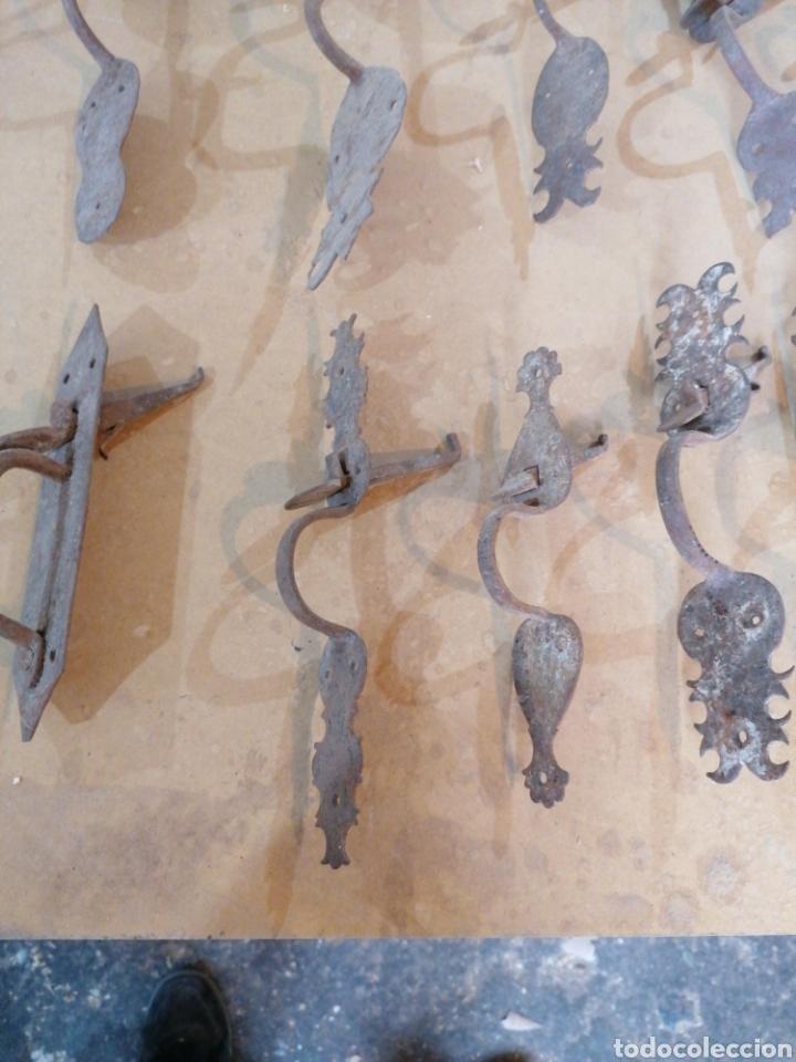 Antigüedades: Tiradores de puertas antiguas - Foto 7 - 233482040