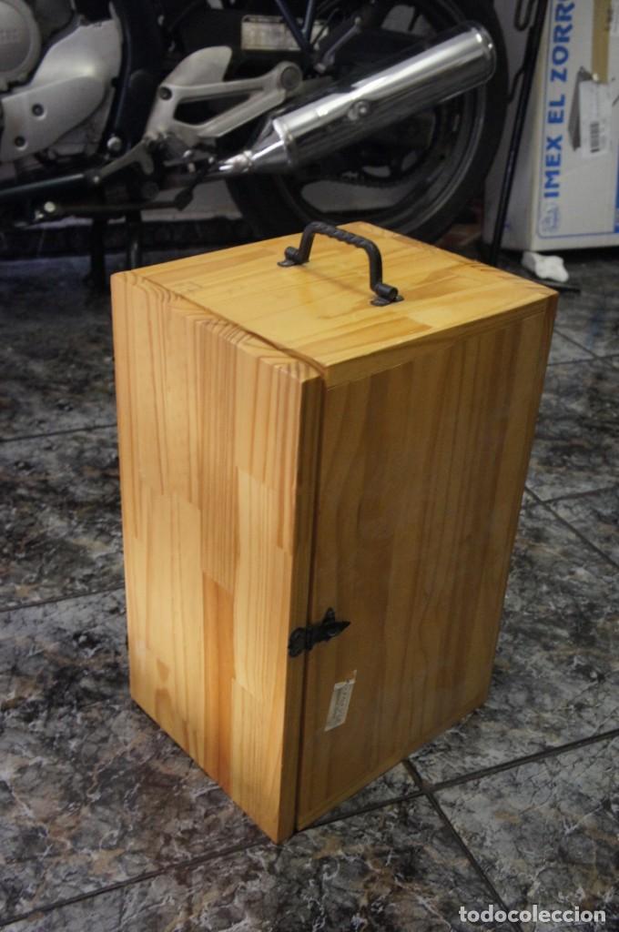 Antigüedades: Maleta de madera para microscopio - Foto 3 - 259939435