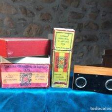Antigüedades: VISOR ESTEREOSCOPIO. Lote 233597250