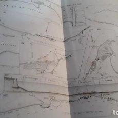 Antigüedades: 25 PLANOS DE PUERTOS A DOS PAGINAS,COURS DE CONSTRUCTIONS DES PORTS DE MER 1846,ENCUADERNADOS. Lote 233679630