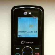Teléfonos: TELÉFONO MÓVIL LG KP100 MOVISTAR TELEFÓNICA (FUNCIONA) CON CARGADOR Y MANUAL USUARIO. Lote 233890235