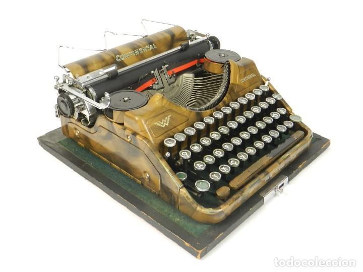 MAQUINA DE ESCRIBIR CONTINENTAL WANDERER DORADA AÑO 1932 TYPEWRITER SCHREIBMASCHINE (Antigüedades - Técnicas - Máquinas de Escribir Antiguas - Continental)