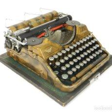 Antigüedades: MAQUINA DE ESCRIBIR CONTINENTAL WANDERER DORADA AÑO 1932 TYPEWRITER SCHREIBMASCHINE. Lote 234032510