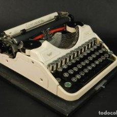 Antigüedades: RARA MAQUINA DE ESCRIBIR CONTINENTAL WANDERERCOLOR MARFIL AÑO 1932 TYPEWRITER SCHREIBMASCHINE. Lote 234042600