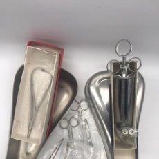 Antigüedades: LOTE DE ANTIGUO INSTRUMENTAL MEDICO. Lote 234060085