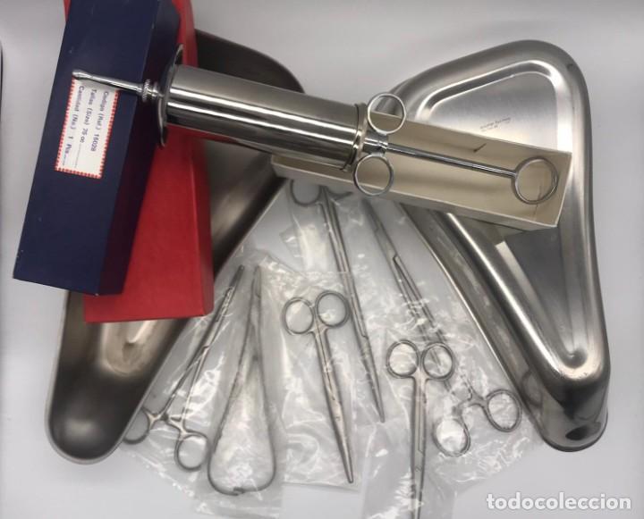 Antigüedades: LOTE DE ANTIGUO INSTRUMENTAL MEDICO - Foto 3 - 234060085