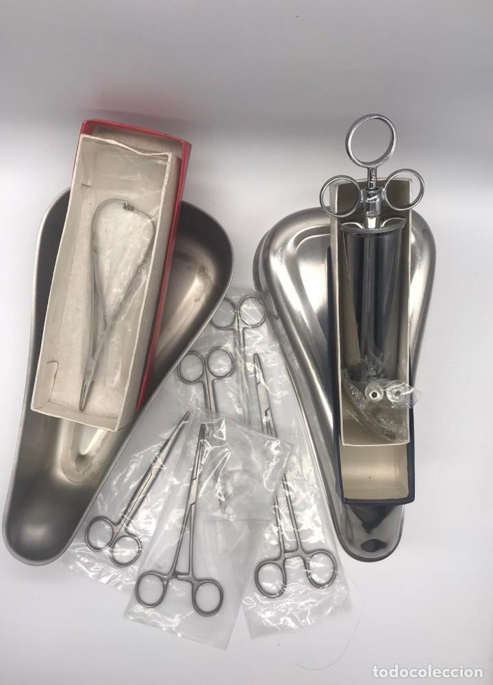 Antigüedades: LOTE DE ANTIGUO INSTRUMENTAL MEDICO - Foto 6 - 234060085