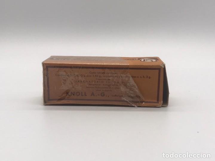 Antigüedades: LOTE DE ANTIGUAS CAJAS / BOTES/ PISA PAPELES DE MEDICAMENTOS - Foto 30 - 234121480