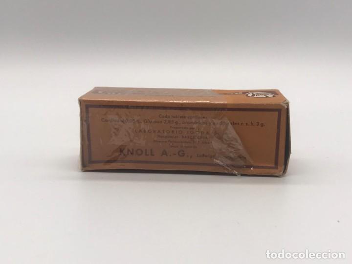 Antigüedades: LOTE DE ANTIGUAS CAJAS / BOTES/ PISA PAPELES DE MEDICAMENTOS - Foto 32 - 234121480