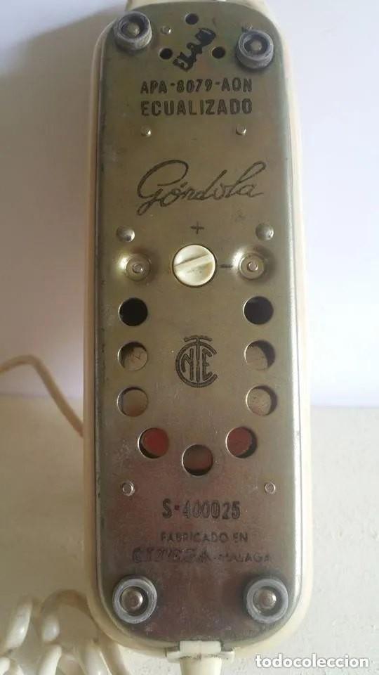 Teléfonos: TELEFONO CITESA DE GONDOLA / SOBREMESA / AÑOS 70. - Foto 3 - 234288725