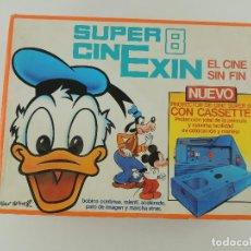 Antigüedades: SUPER 8 CINEXIN EL CINE SIN FIN CON PELÍCULAS. Lote 234291290