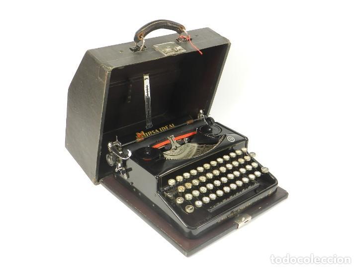 RARA MAQUINA DE ESCRIBIR MIRSA IDEAL Nº5 AÑO 1934 TYPEWRITER SCHREIBMASCHINE (Antigüedades - Técnicas - Máquinas de Escribir Antiguas - Erika)