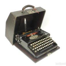 Antigüedades: RARA MAQUINA DE ESCRIBIR MIRSA IDEAL Nº5 AÑO 1934 TYPEWRITER SCHREIBMASCHINE. Lote 234339295