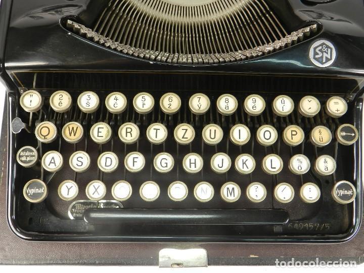 Antigüedades: RARA MAQUINA DE ESCRIBIR MIRSA IDEAL Nº5 AÑO 1934 TYPEWRITER SCHREIBMASCHINE - Foto 6 - 234339295