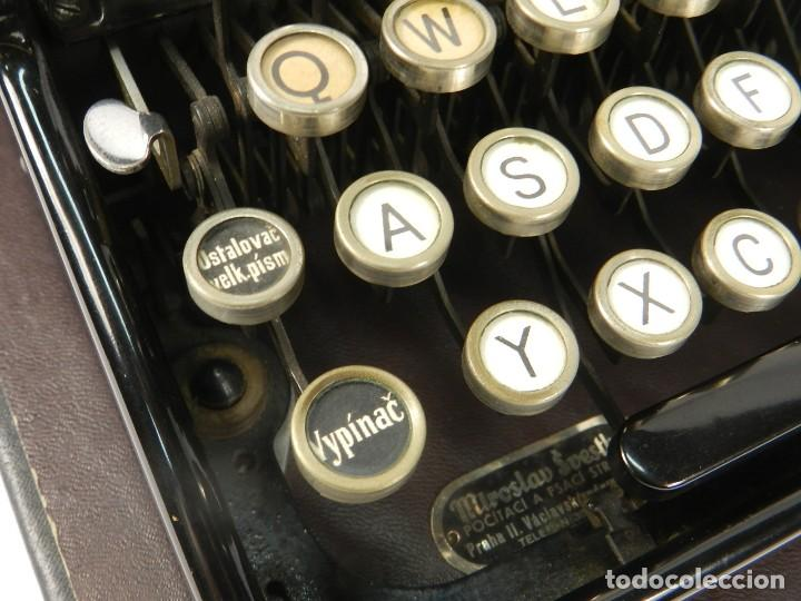 Antigüedades: RARA MAQUINA DE ESCRIBIR MIRSA IDEAL Nº5 AÑO 1934 TYPEWRITER SCHREIBMASCHINE - Foto 9 - 234339295