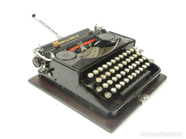 Antigüedades: RARA MAQUINA DE ESCRIBIR MIRSA IDEAL Nº5 AÑO 1934 TYPEWRITER SCHREIBMASCHINE - Foto 10 - 234339295