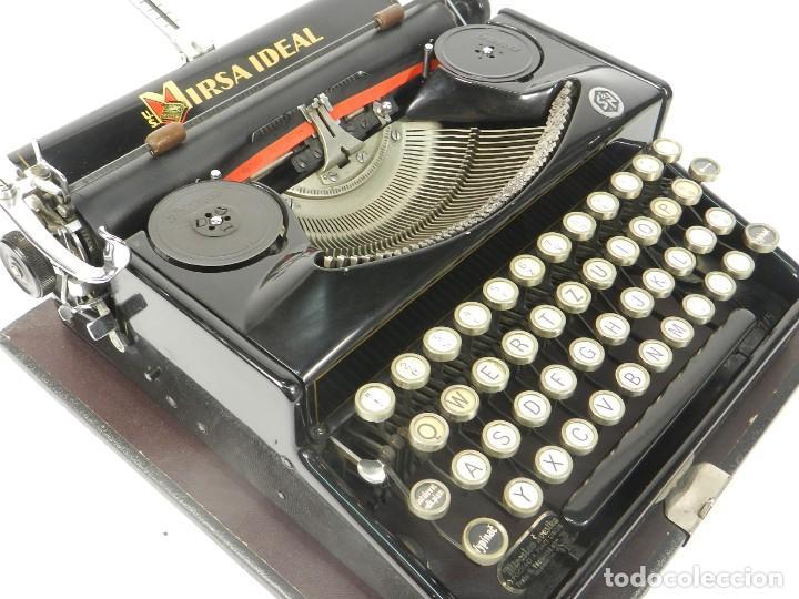 Antigüedades: RARA MAQUINA DE ESCRIBIR MIRSA IDEAL Nº5 AÑO 1934 TYPEWRITER SCHREIBMASCHINE - Foto 11 - 234339295