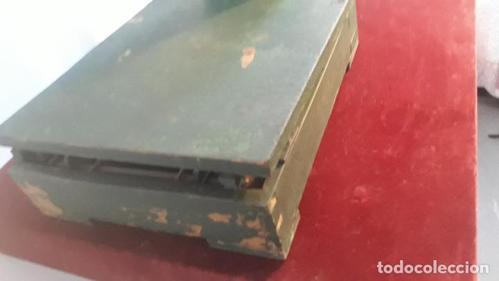 Antigüedades: muy raro peso como los de capazos pero en miniatura - Foto 4 - 234365330