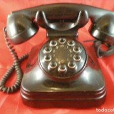Teléfonos: TELEFONO SOBREMESA BOTONERA STANDARD ELECTRICA 5730A - CTNE - AÑOS 50 - BAQUELITA. Lote 234376550