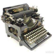 Antigüedades: MAQUINA DE ESCRIBIR TRIUMPH Nº10 SIMPLEX AÑO 1925 TYPEWRITER SCHREIBMASCHINE. Lote 234450480
