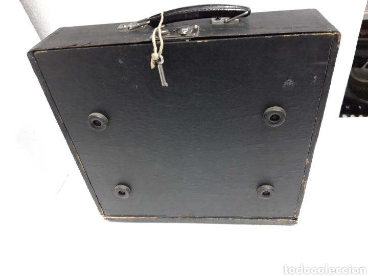 Antigüedades: Estuche maquina de escribir Mercedes Prima - Foto 3 - 234523510
