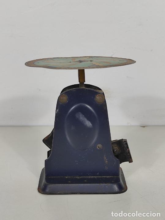 Antigüedades: Antigua Balanza para Cartas - Publicidad Farmacias, Dr Bengué, París - Bascula de Colección - Foto 9 - 234528785