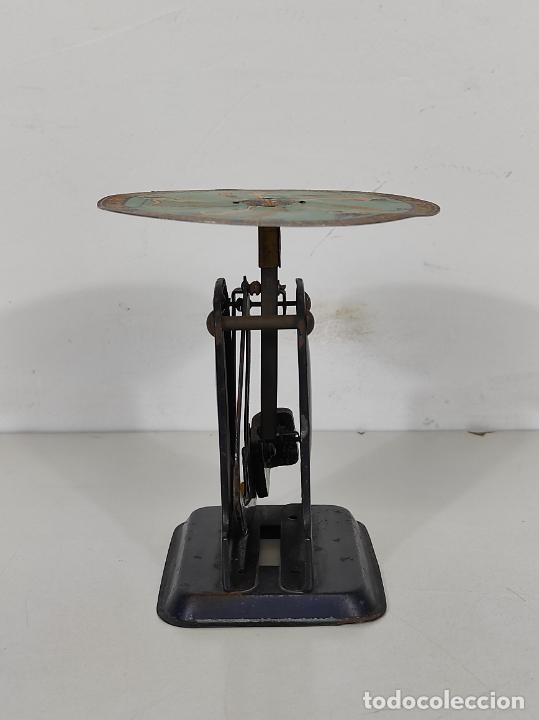 Antigüedades: Antigua Balanza para Cartas - Publicidad Farmacias, Dr Bengué, París - Bascula de Colección - Foto 10 - 234528785