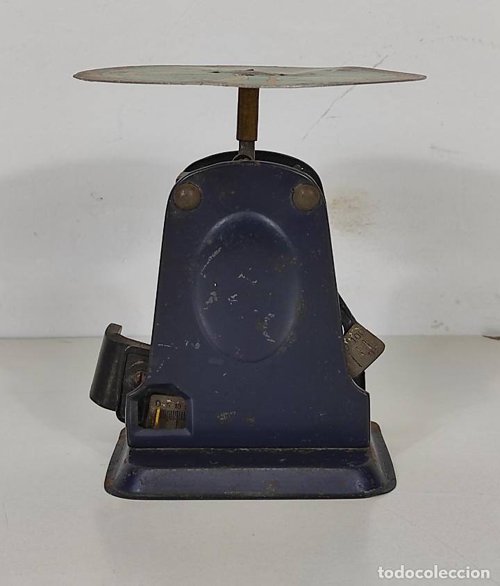 Antigüedades: Antigua Balanza para Cartas - Publicidad Farmacias, Dr Bengué, París - Bascula de Colección - Foto 16 - 234528785